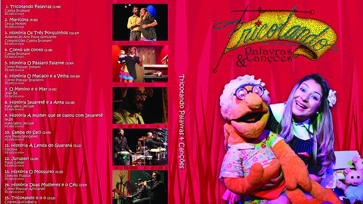 DVD Tricotando Palavras & Canções